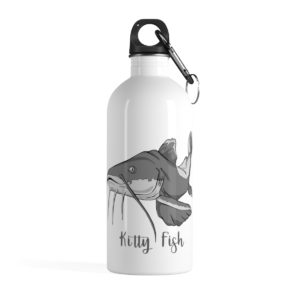 Kitty Fish Stainless Steel Water Bottle